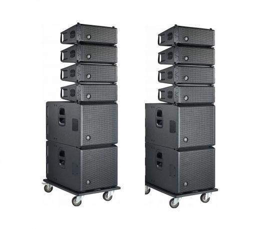 DAS Audio - Event 26A + Event 115A Complete Line Array System