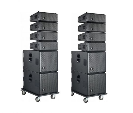 DAS Audio - Event 26A + Event 115A Complete Line Array System