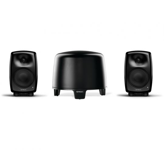 GENELEC G-Three + F-Two, 2.1 Stereo System