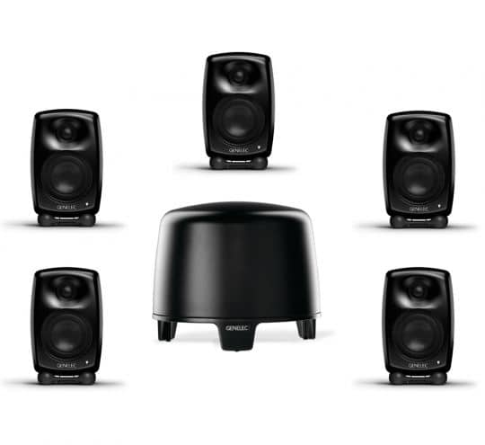 GENELEC G-Two + F-Two, 5.1 Home Cinema System