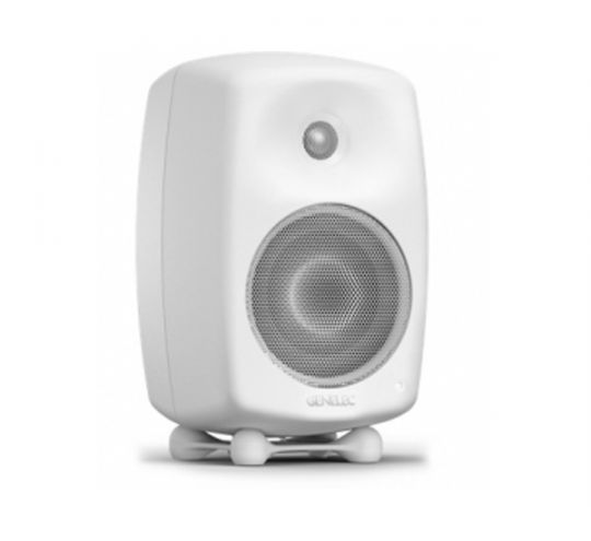 GENELEC G-Three, 2-Way Active Loudspeaker (White)