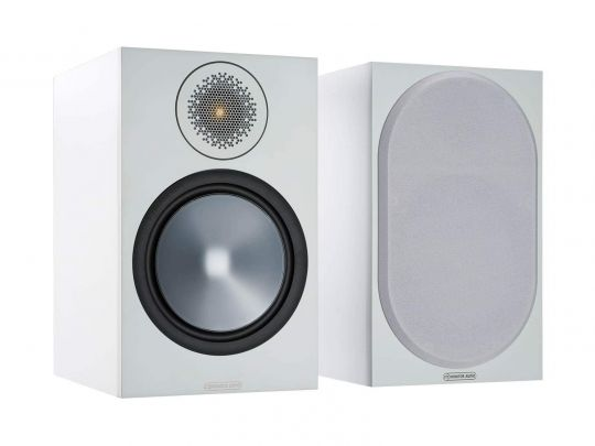 MONITOR AUDIO Bronze 100 Regallautsprecher (Weiss)