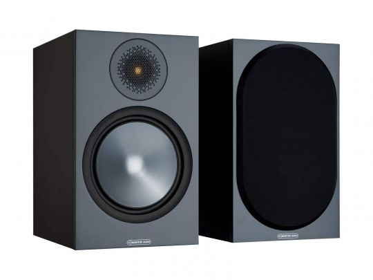 MONITOR AUDIO Bronze 100 Regallautsprecher (Schwarz)