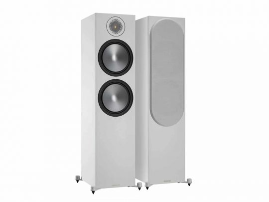 MONITOR AUDIO Bronze 500 Standlautsprecher (Weiss)