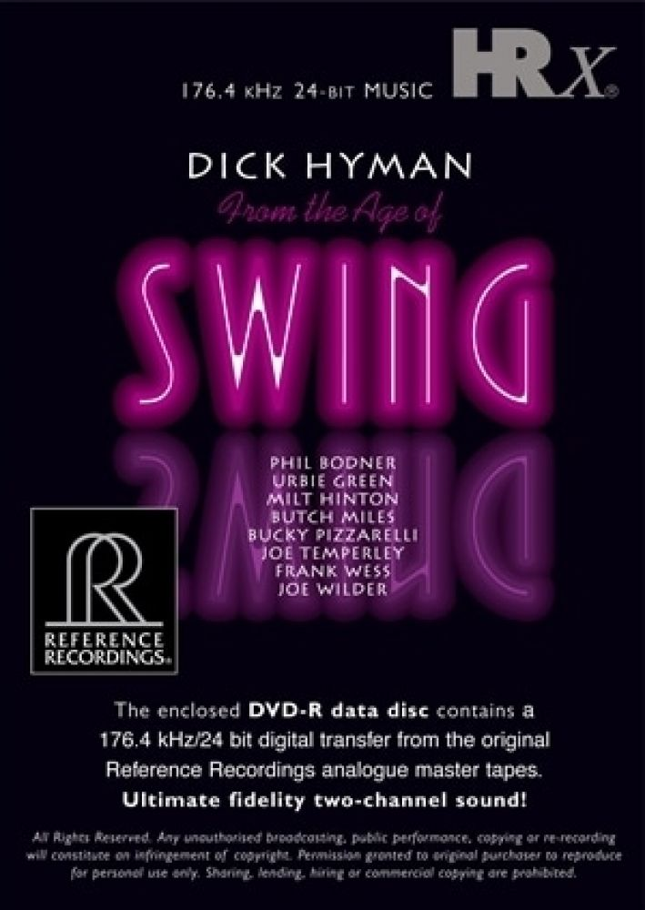 Dick Hyman - From The Age Of Swing (HRx)
