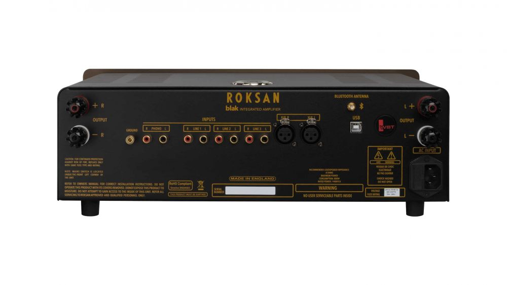 ROKSAN BLAK Integrated Amplifier (Rear)
