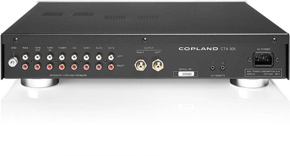 COPLAND CTA305 Valve Stereo Preamplifier
