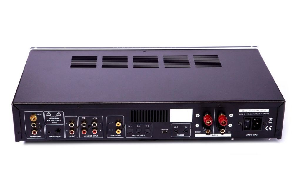 Electrocompaniet ECI-80D Integrated Amplifier (Rear)