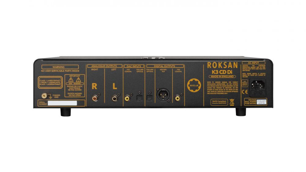 ROKSAN - K3 CD Player (Rear)