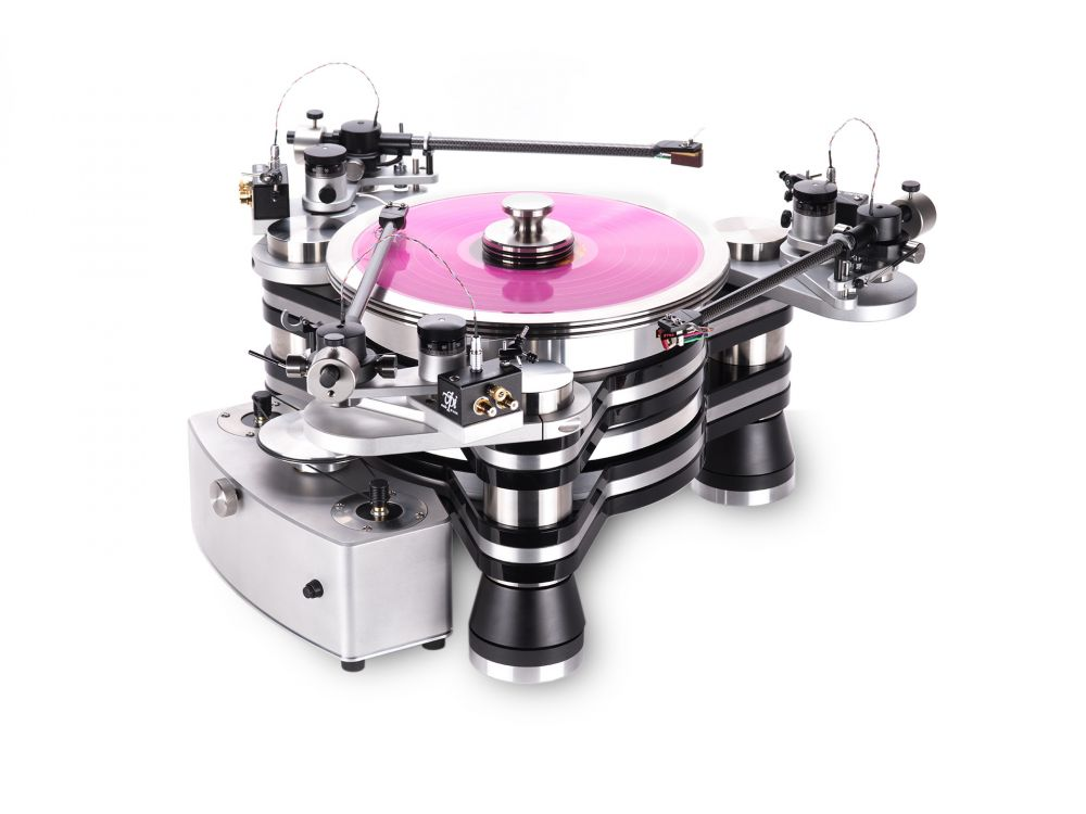 VPI TITAN / JMW 12 3DR Turntable