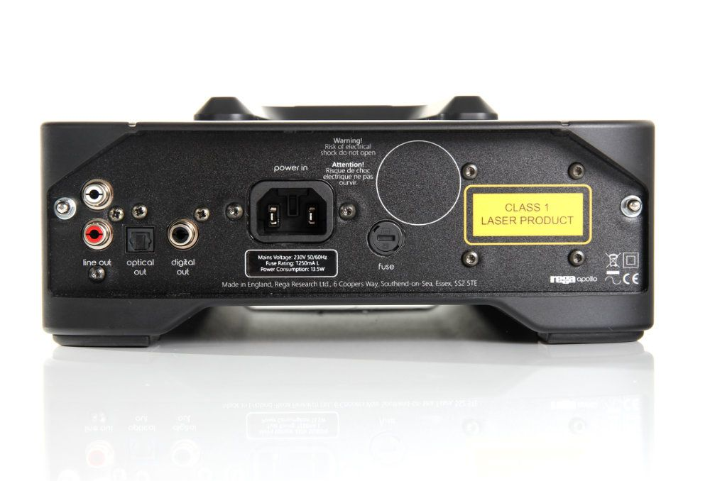 REGA Apollo CDP CD-Player (Rear)