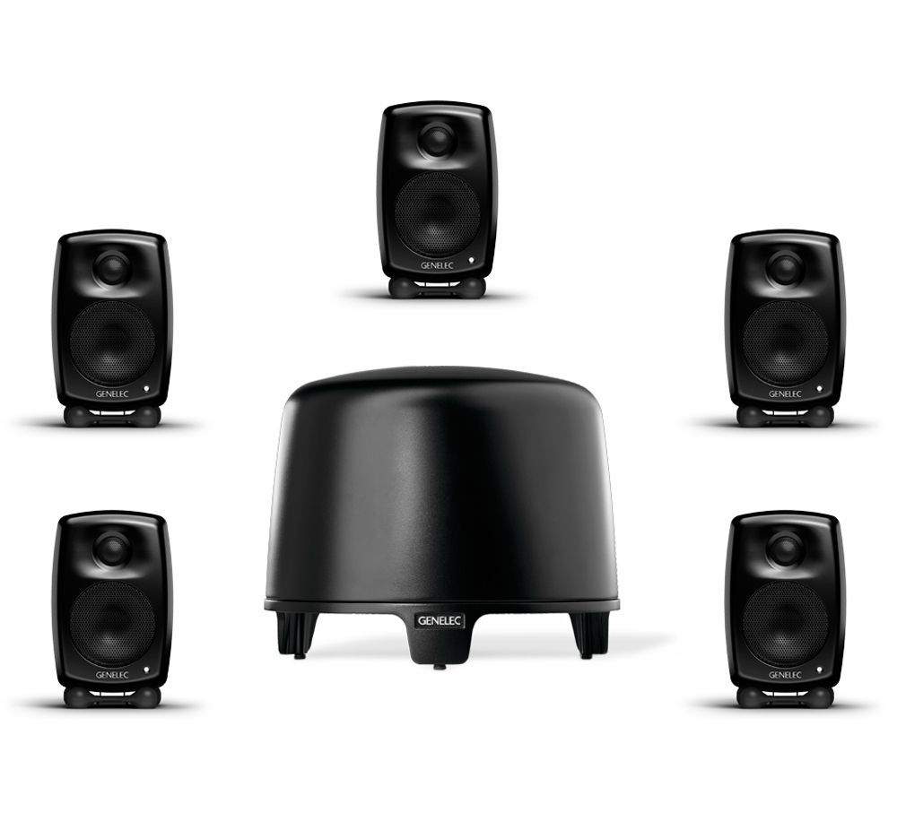 GENELEC F-One + G-One, 5.1 Home Cinema System