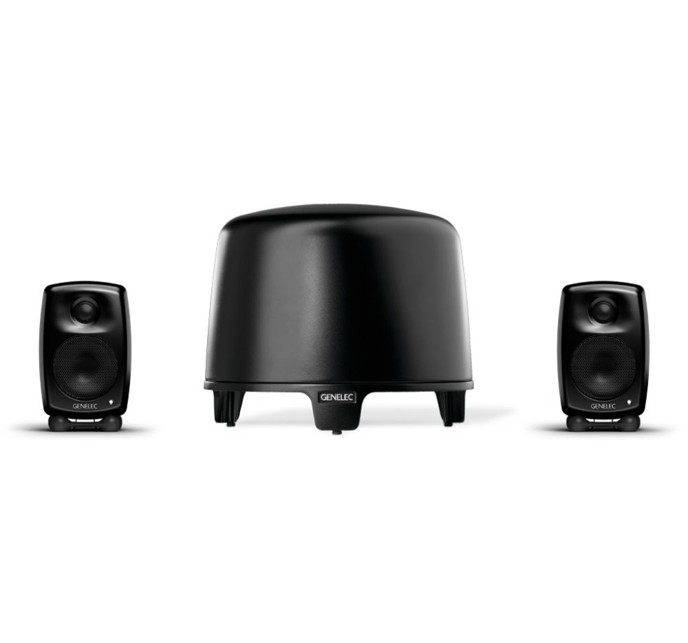 GENELEC G-One + F-One, 2.1 Stereo System