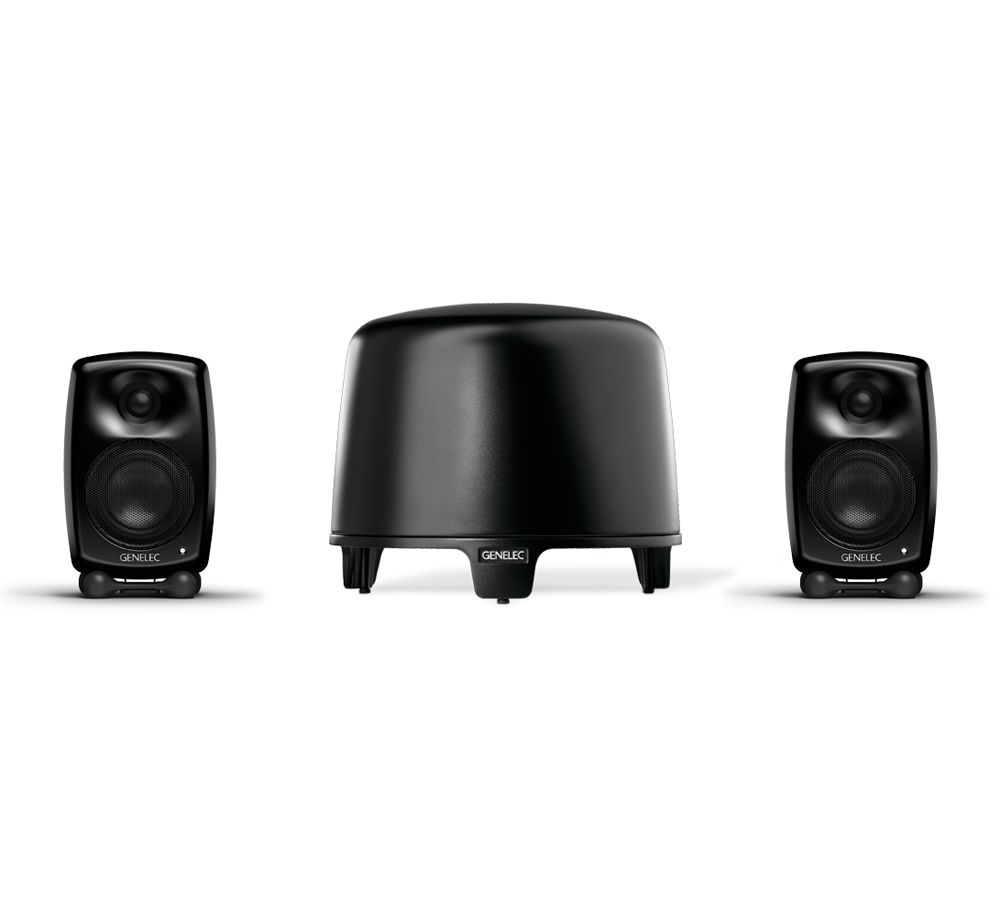 GENELEC G-Two + F-One, 2.1 Stereo System