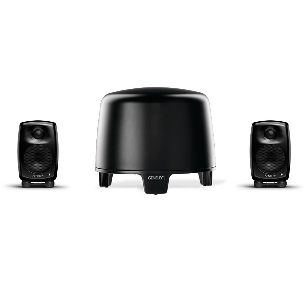 GENELEC G-One + F-Two, 2.1 Stereo System