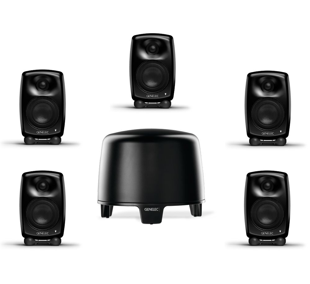 GENELEC F-Two + G-Two, 5.1 Home Cinema System
