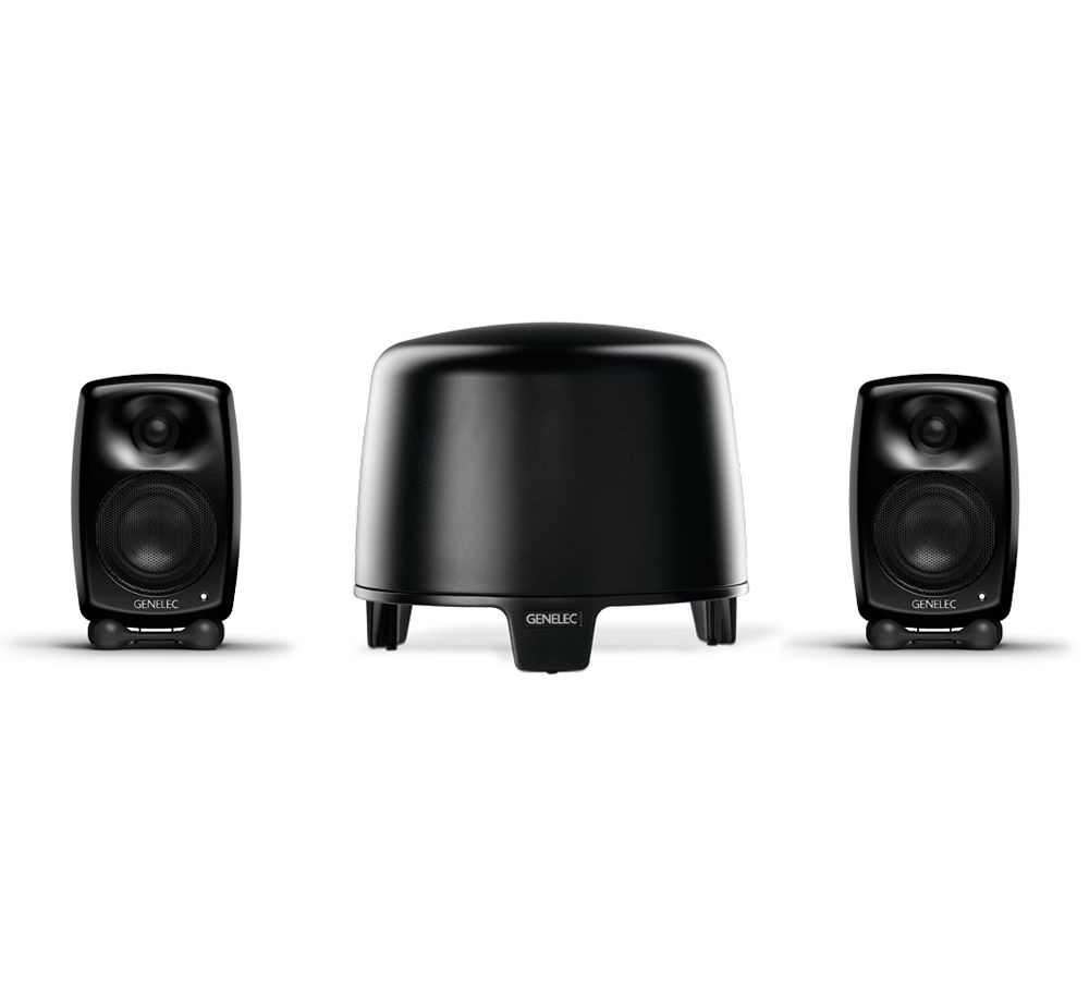 GENELEC G-Two + F-Two, 2.1 Stereo System