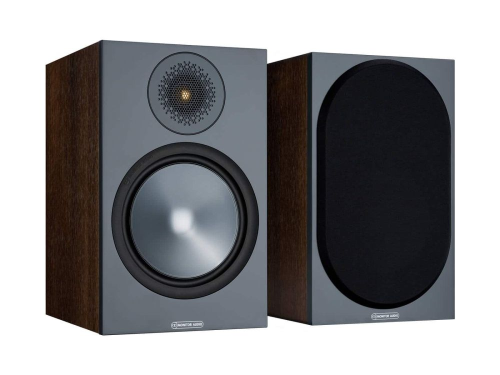 MONITOR AUDIO Bronze 100 Regallautsprecher (Walnuss)